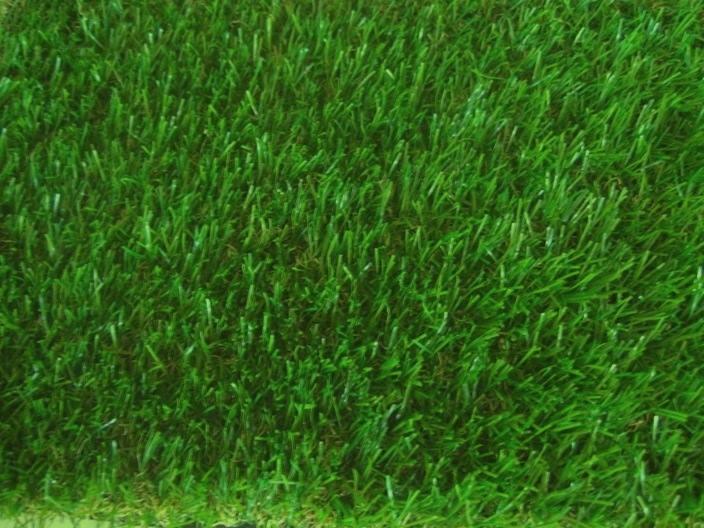 หญ้าเทียมสำหรับจัดสวน หญ้าปลอมขนยาว 2.5 cm