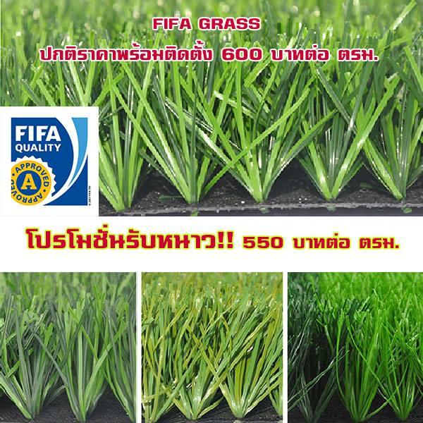 โปรโมชั่นติดตั้งหญ้าเทียม