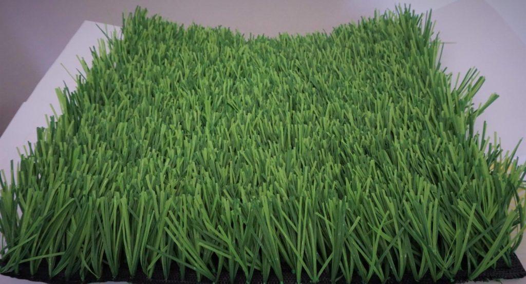 หญ้าเทียมกลางแจ้ง หญ้าปลอมขนยาว 5.0 cm