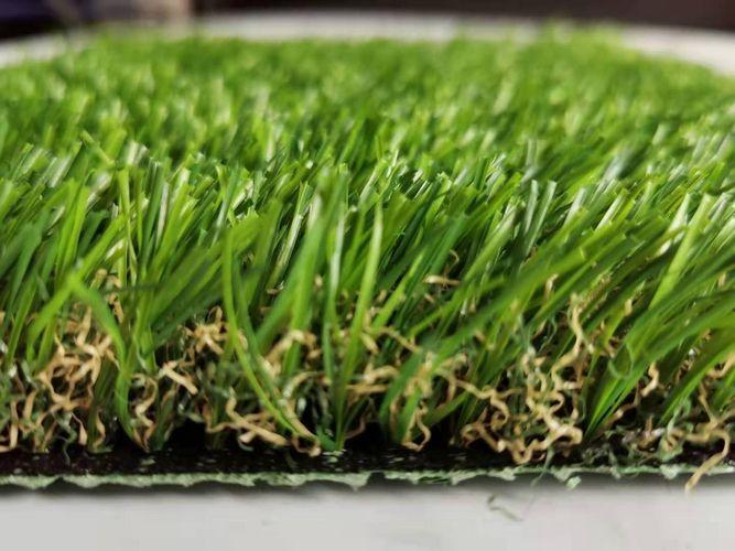หญ้าเทียมกลางแจ้ง หญ้าปลอมขนยาว 3.0 cm
