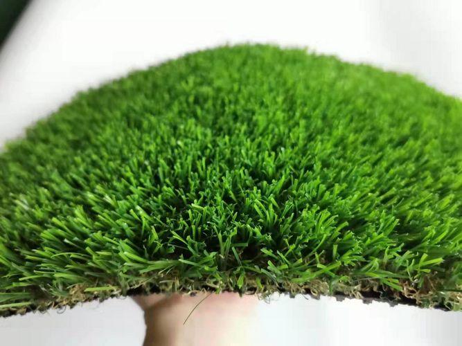 หญ้าเทียมกลางแจ้ง หญ้าปลอมขนยาว 4.0 cm