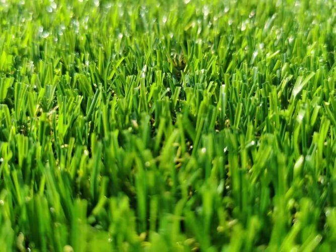 หญ้าเทียมกลางแจ้ง หญ้าปลอมขนยาว 2.0 cm